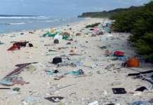 Rifiuti abbandonati su spiagge