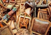 Trasporto di rifiuti arredamento
