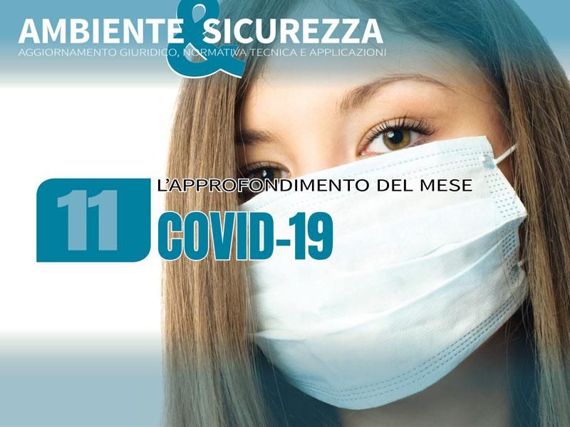 Coronavirus e prevenzione in azienda