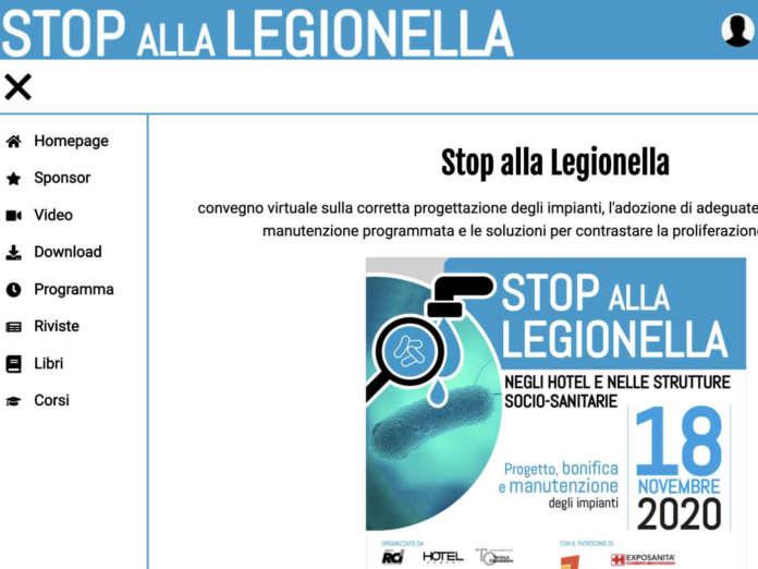 Stop alla Legionella