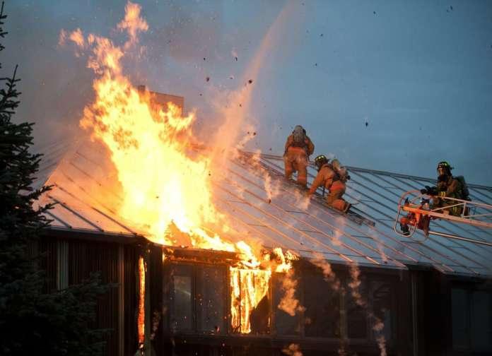 Vigili del fuoco infortuni in servizio